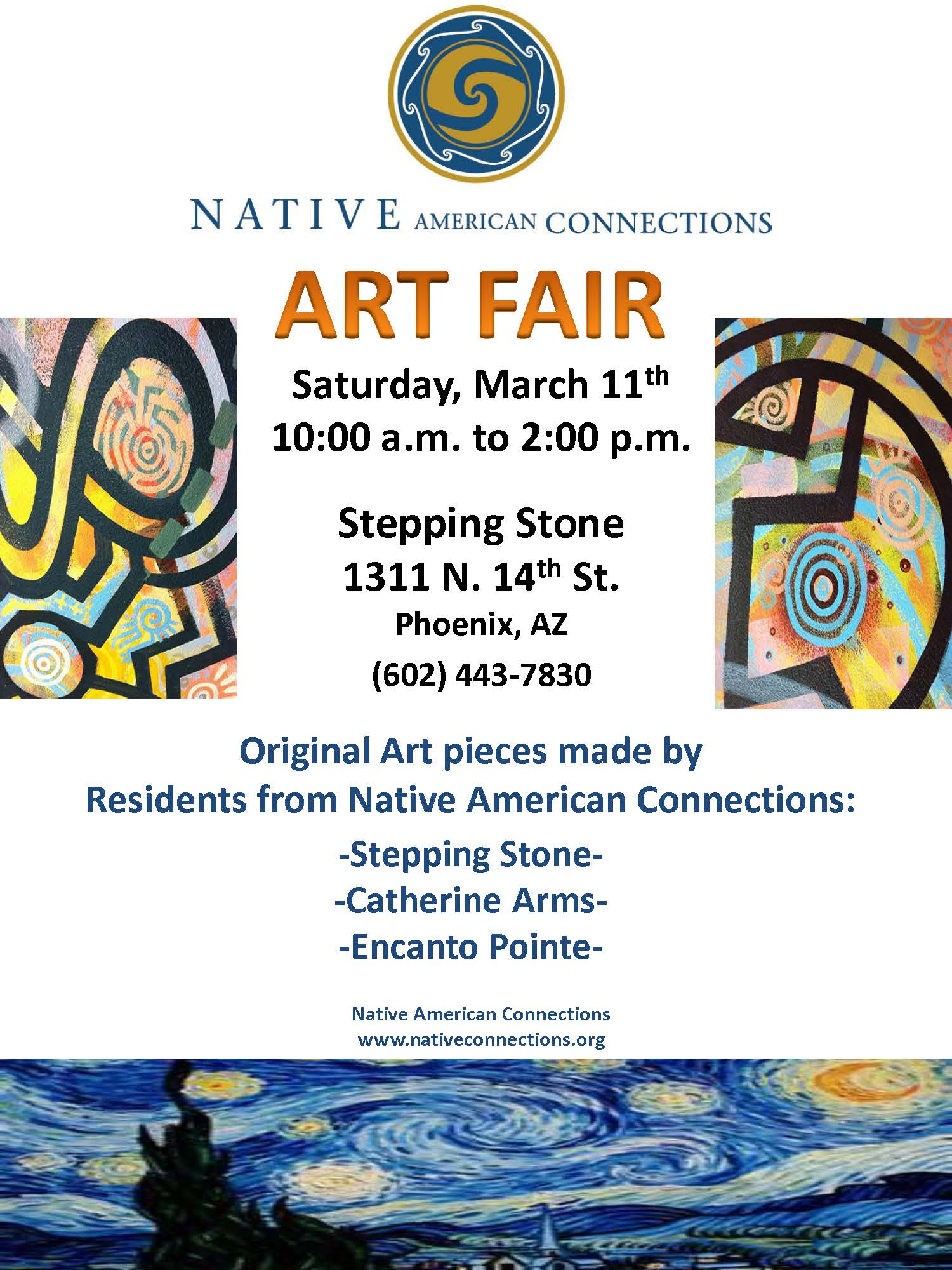 Native American Connections Art Fair
