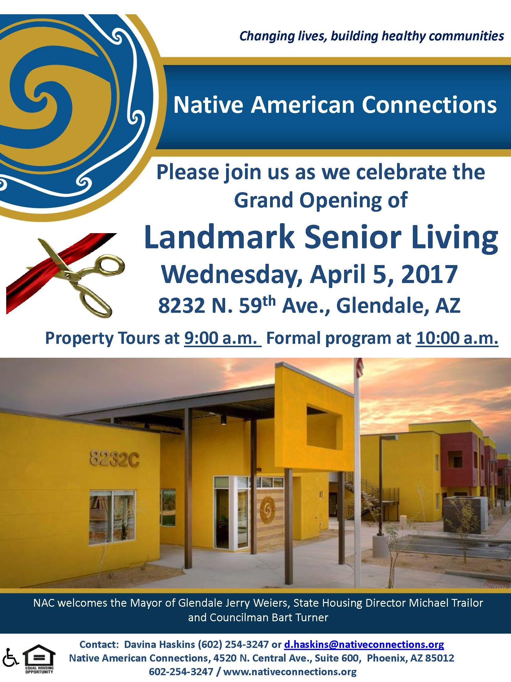 Ordinaire Landmark Senior Living Grand Opening!